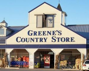 GREENE'S COUNTRY STORE auction