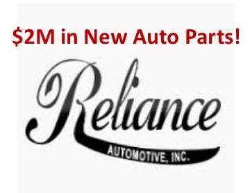 Reliance Day 1 Auto Parts Auction BCLauction com